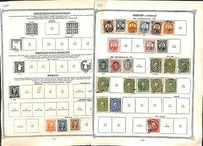 v122-Mexico Collection-Mint & Used