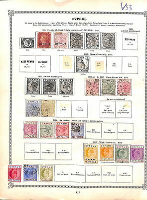 v53-Cyprus Selection-Mint & Used