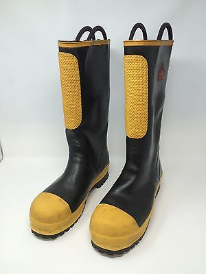 Black Diamond Fire Fighting Boots Size 10 Medium
