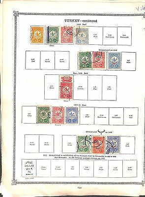 V4-Turkey Collection-Mint & Used
