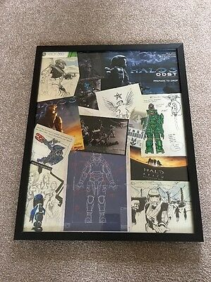 Halo Collectable Photo Frame (Homemade) Xbox Gaming Merchandise