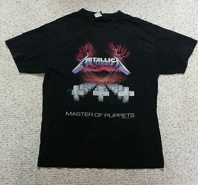 Metallica Master of Puppets shirt Large used 1994