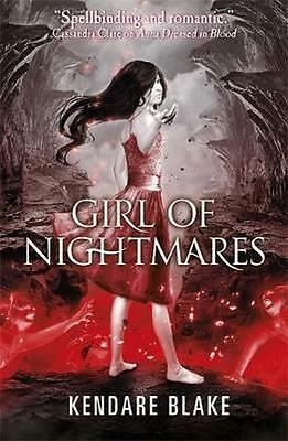NEW Girl of Nightmares By Kendare Blake Paperback Free Shipping