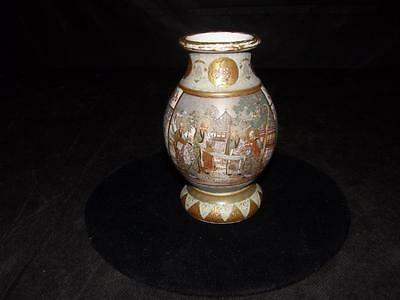 ANTIQUE SATSUMA VASE    Ca.1860