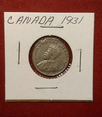 1931 5C Canada 5 Cents