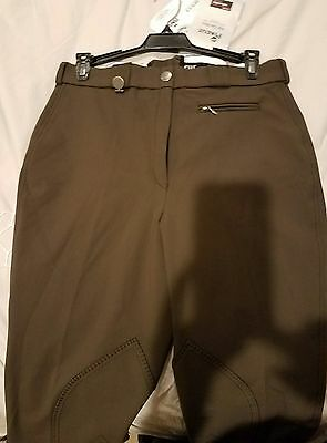 NWT Pikeur knee patch breeches, 28R Brown