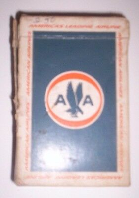 """Vintage American Airlines """"Astrojets"""" Souvenir Playing Cards America's Leading"""