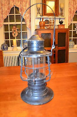 Antique WWI Era Dietz World Standard Deck Lantern Ship
