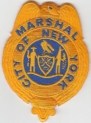 Marshal New York Police Hat Patch Ny