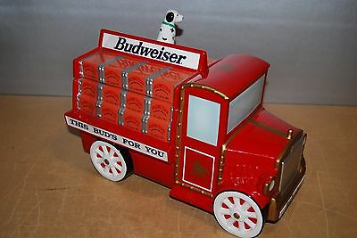 "Budweiser ""THIS BUD'S FOR YOU"" Cookie Jar w/ Dalmation New"