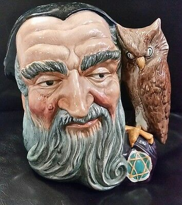 Royal Doulton Merlin D 6529 Toby Jug