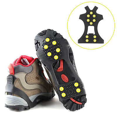Cleats Over Shoes Studded Snow Grips Ice Grips Anti Slip Snow Shoes Crampons#FO4