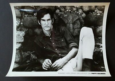 Townes Van Zandt Promotional Photograph Poppy Records