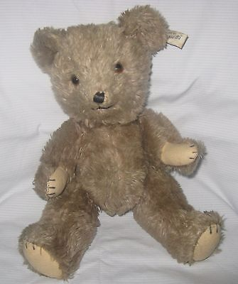 """Adorable Vintage 14"""" CHARACTER Novelty Co Jointed Teddy Bear"""