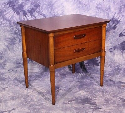 Mid Century Modern Nightstand End Side Table Commode Chest Console Stand