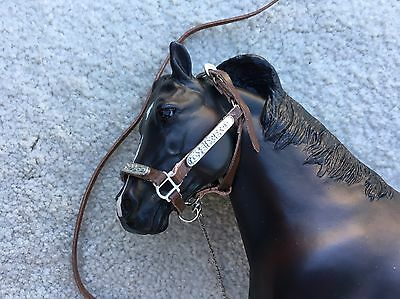 Breyer Horse Traditional Accessory #2490 Western Stock Show Halter Lead Leather