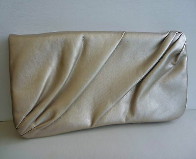 Swarovski Gold Makeup Cosmetics Bag / Pouch, Brand NEW! 100% Authentic!!