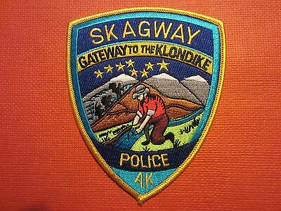 Collectible Alaska Police Patch Skagway New