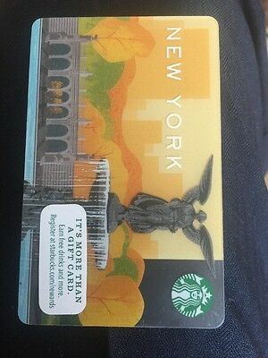New York NYC Starbucks Central Park Yellow  Card USA - Trump Tower  年圣诞节英国英国