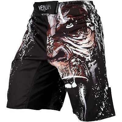 SALE Venum Fight Shorts Gorilla schwarz black MMA Muay Thai Training VENUM-03120