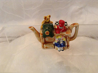 Cardew Collectable Novelty Miniature Teapot Toybox Great Condition