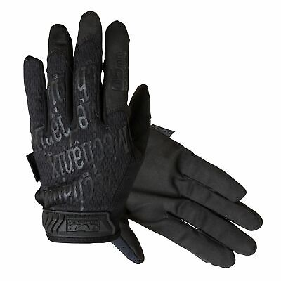 Mechanix Original 0.5mm Synthetic Leather Car Mechanics Work Hand Gloves - Black