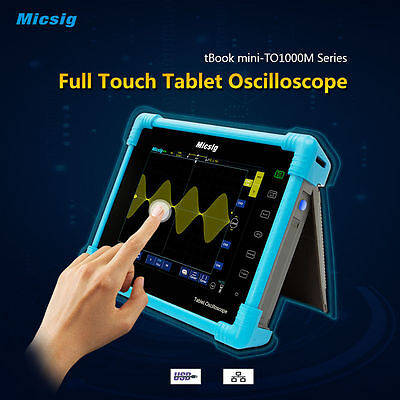 Micsig TO1102 TO1104 Digital Tablet Oscilloscope 100 MHz 2 Channel 4 Channel