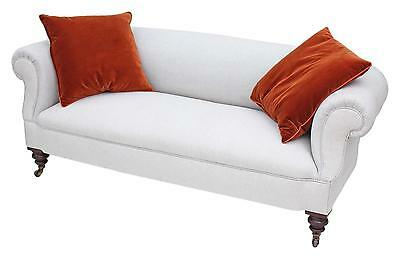 Antique quality Victorian 19th Century mahogany chesterfield sofa settee