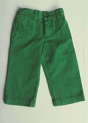 Ralph Lauren Baby Boy's GREEN trousers NEW Size 6 9 12 24 months 2 year SALE