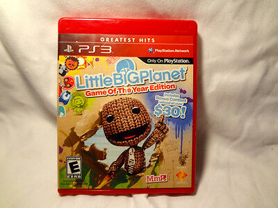 Little Big Planet Game of the Year edition PS3 As New.