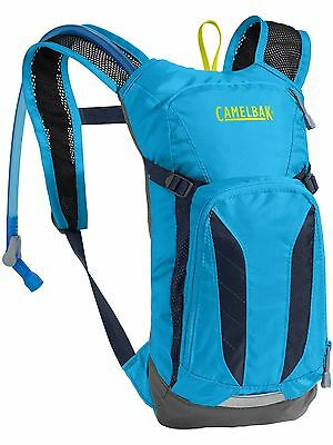 Camelbak Atomic Blue-Navy Blazer 2017 Mini M.U.L.E. - 1.5 Litre Kids Hydration P