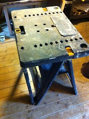 Builders Folding Stand Table Bench Work Tools