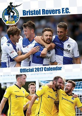 Bristol Rovers Official 2017 Calendar