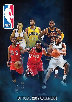 NBA Official Calendar 2017
