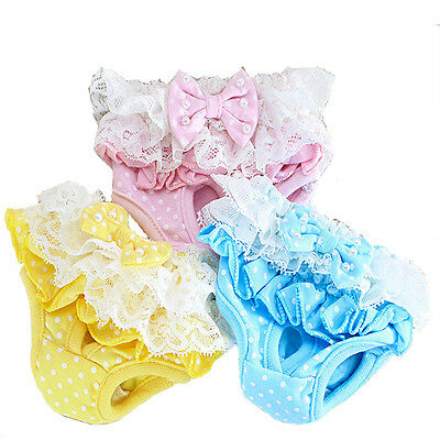 Dog Physiological Pants Pet Panty Puppy Cotton Diaper Knicker Sanitary Underwear