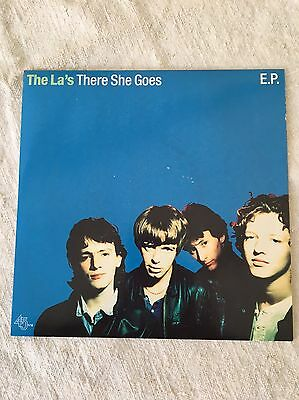 """The La's 'There she Goes' 7"""" vinyl single"""