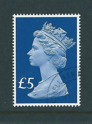 GREAT BRITAIN 2017 65th ANNIVERSARY NEW FIVE POUND STAMP FINE USED