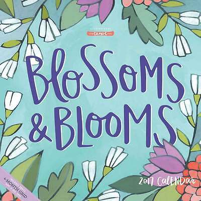 Blossoms and Blooms Calendar 2017 Lifestyle Wall Calendar Month View