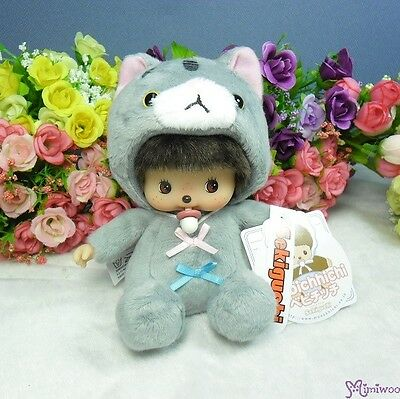 Bebichhichi Baby Cat Sekiguchi 13cm Plush Kitten BBCC Boy Grey ~~ NEW ARRIVAL ~