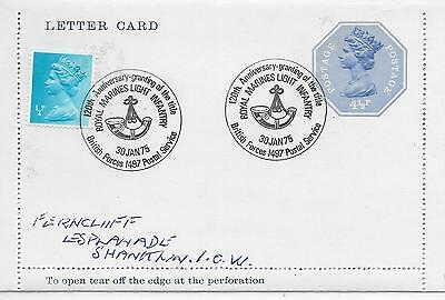 Gb Special Cancel Royal Marines Light Infantry 120 Anniversary; Bfps1497 Cancel.