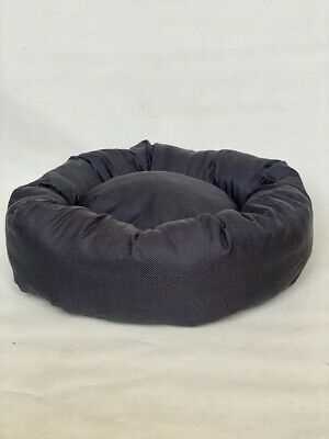 DONUT BED Grey Glitter Dog Bed, 34 Sizes available, Extra Large, Fast Delivery