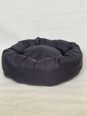 DONUT BED Slate Grey Dog Bed, 34 Sizes available, Extra Large, Fast Delivery