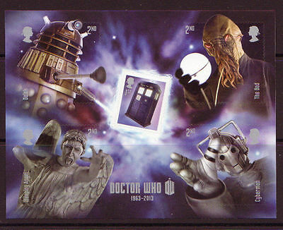 MS3451 2013 Dr Who miniature sheet UNMOUNTED MINT/MNH