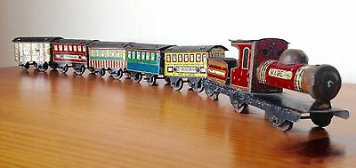 Japan Penny Toy Steam Train, Litho, Rare item