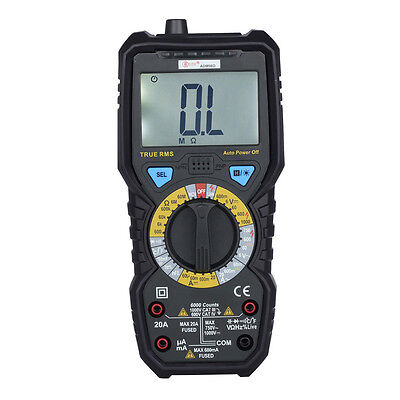 BSIDE ADM08D Non-contact True RMS Value Digital Multimeter with Backlight U9P5