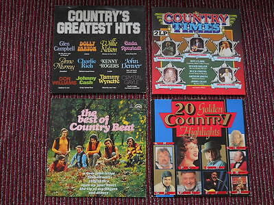 LP Sammlung 6 x Country's Greatest Hits Country Times Best of Countr