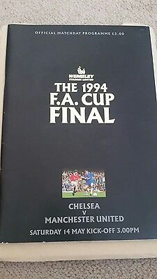 Fa cup final programme 1994