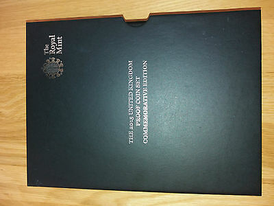 2015 Royal Mint RM United Kingdom UK Proof Coin Set PACKAGING ONLY