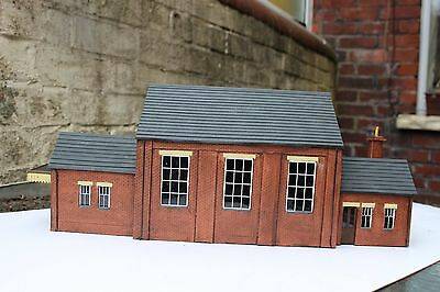 o gauge model railways gwr goods shed