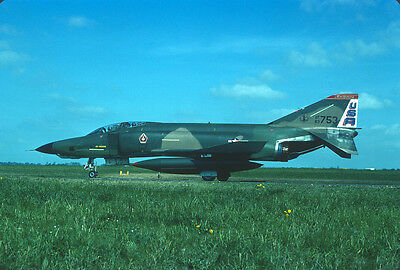 Original Kodak aircraft slide,RF-4C 63-753 Alab ANG in June-1980